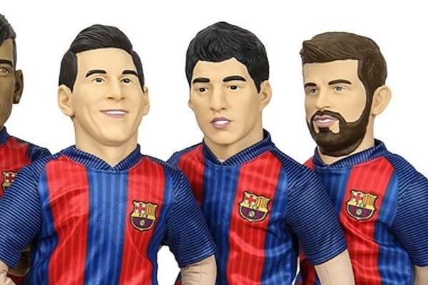 Muñecos del Barça